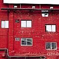Boston Red Wall by Sara Schroeder