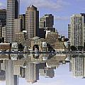 Boston Reflections by James Ekstrom