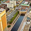 Boston Rooftops by Liz Leyden