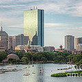 Boston Skyline I by Clarence Holmes