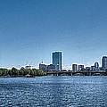 Boston Skyline II by C H Apperson