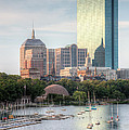Boston Skyline II by Clarence Holmes