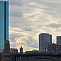 Boston Skyline by Meandering Photography