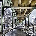 Boston Streetcar Overpass-cambridge V2 by Douglas Barnard