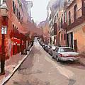 Boston Streets 1 by Yury Malkov