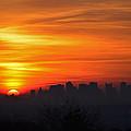 Boston Sunrise by Ken Stampfer