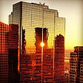 Boston Sunrise by Mark Valentine