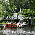 Boston Swan Boat by Christiane Schulze Art And Photography