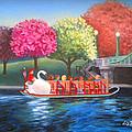 Boston Swan Boat by Liz Boston