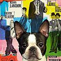 Boston Terrier Art - 30 Years Of Fun Movie Poster by Sandra Sij