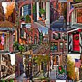Boston Tourism Collage by Joann Vitali
