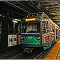 Boston's Mbta Green Line by Mike Martin
