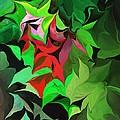 Botanical Fantasy 071613 by David Lane