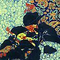 Botanical Klimt by Heidi E  Nelson