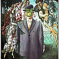 Botticelli Son-of-man 1  by Zac AlleyWalker Lowing