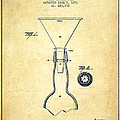 Bottle Neck Patent From 1891 - Vintage by Aged Pixel