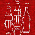 Bottle Support Patent Drawing From 1937 3 by Samir Hanusa