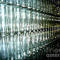 Bottle Wall by Sara Graham