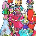 Bottle2010 by Loretta Nash