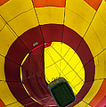 Bottoms Up Hot Air Balloon by Thomas Woolworth