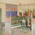 Boudoir, From A Villa In Helsinki by .