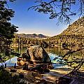 Boulder At Fallen Leaf Lake by William Havle