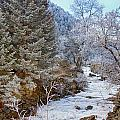 Boulder Creek Winter Wonderland by James BO Insogna