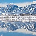 Boulder Reservoir Flatirons Reflections Boulder Colorado by James BO Insogna