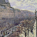 Boulevard Des Italiens by Gustave Caillebotte