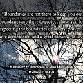 Boundaries Of Love by Linda L Martin