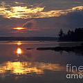 Boundary Waters Sunrise by Joan Wallner