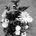 Bouquet In Black And White by Charles Robinson
