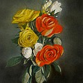 Bouquet Of Flowers by Lance Sheridan-Peel