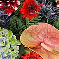 Bouquet Of Flowers by Steve K