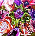 Bouquet Of Flowers by Susan Robinson