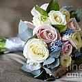 Bouquet Of Spring Flowers by Lee Avison