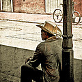 Bourbon Cowboy In New Orleans by Ray Devlin