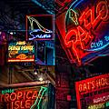 Bourbon St. Neon - Nola by Kathleen K Parker