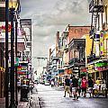 Bourbon Street 2 by Deborah Hughes