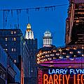 Bourbon Street And Cbd Lights  by Kathleen K Parker