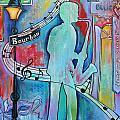Bourbon Street Blues by Melanie Douthit