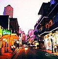 Bourbon Street Early Evening by John Malone