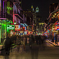 Bourbon Street New Orleans by John McGraw