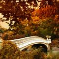 Bow Bridge Fall Fantasy by Jessica Jenney