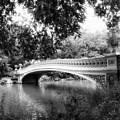 Bow Bridge In Black And White by Jessica Jenney