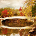 Bow Bridge Reflected by Jessica Jenney
