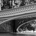 Bow Bridge Texture Bw by Christiane Schulze Art And Photography