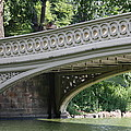 Bow Bridge Texture - Nyc by Christiane Schulze Art And Photography