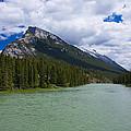 Bow River - Banff by Stuart Litoff