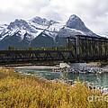 Bow River Railroad Trestle by Bob Phillips